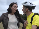 Madura se liga a un joven ciclista
